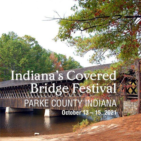 LaMere Family Travel Coralville Iowa City Indiana Covered Bridge Festival 2021