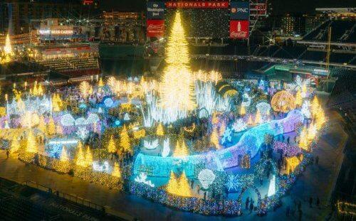 LaMere Family Travel Coralville Iowa City New Years Eve Gala 2022 Enchant Worlds Largest Light Maze