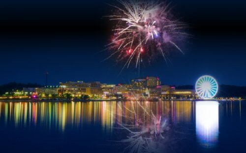LaMere Family Travel Coralville Iowa City New Years Eve Gala 2022 National Harbor with Fireworks